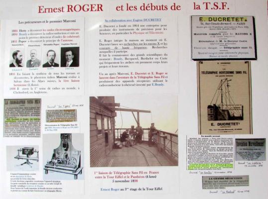 Ernest Roger et les débuts de la T.S.F. - 20160918_BonRepos_ErnestRoger_Panneau3