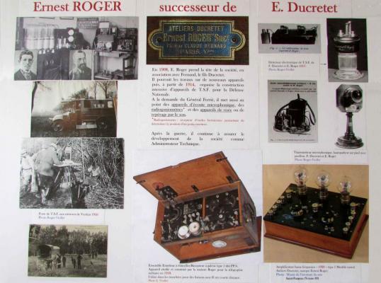 Ernest Roger successeur de E. Ducretet - 20160918_BonRepos_ErnestRoger_Panneau5