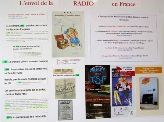 L'envol de la Radio en France - 20160918_BonRepos_ErnestRoger_Panneau7