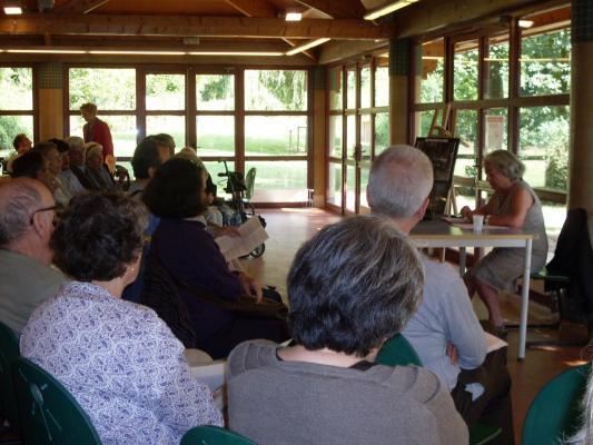 Les visiteurs assistent à une conférence sur Anatole Leroy Beaulieu 1