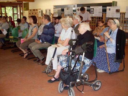Les visiteurs assistent à une conférence sur Anatole Leroy Beaulieu 2