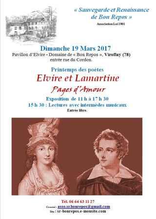 Elvire et Lamartine : Pages d'Amour