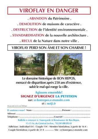 Lien vers le tract distribué dans Viroflay